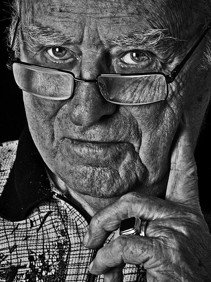Mr Niet by Johannes Bichmann - People Portraits of Men