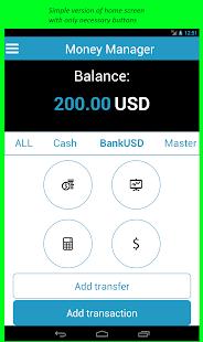 Money Manager- screenshot thumbnail