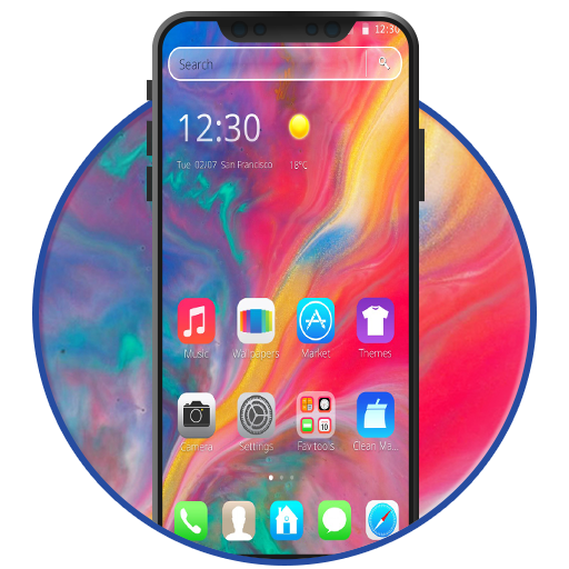 Wallpaper Theme for PhoneX