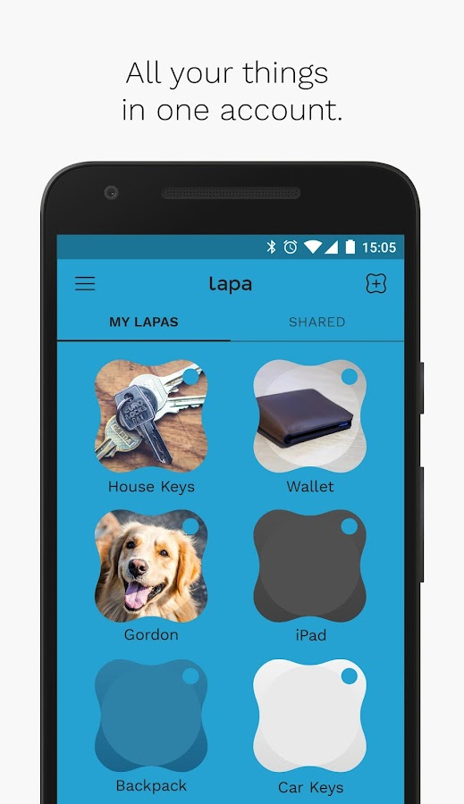 Lapa - Bluetooth Tracker- screenshot