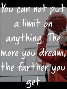 Basketball Quotes for Players - náhled