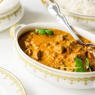 Indian Butter Chicken Curry (Murgh Makhani).
