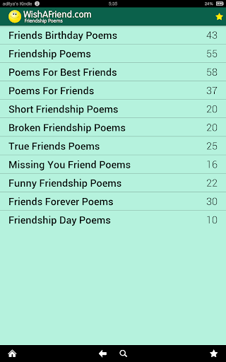 Download Friendship Poems & Cards Google Play softwares