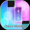 Magic Dance Monkey Piano Game icon