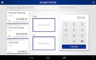 Screenshot of Bangor Mobile