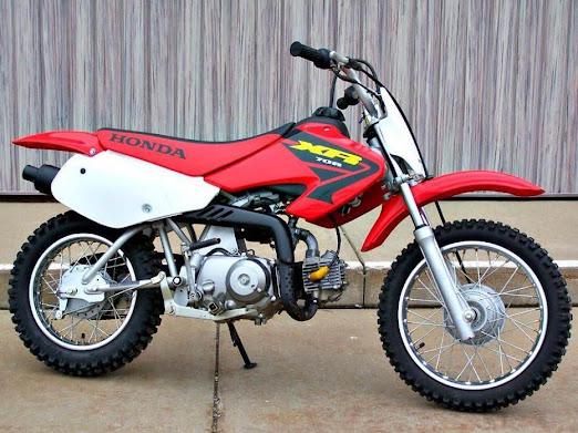 Honda XR 70- manual-taller-despiece-mecanica