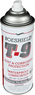 Boeshield T9 Aerosol Chain Lube and Rust Inhibitor: 12oz alternate image 0
