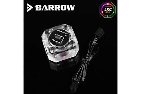 """Barrow strømningsindikator RGB, 1/4""""BSP, Plexi"""