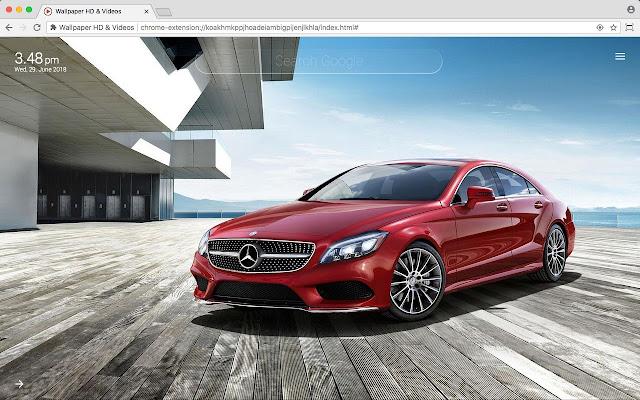 Mercedes Benz Amg Full Hd Wallpaper New Tab