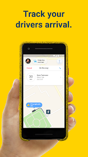 mytaxi. Europe's #1 Taxi App Screenshot