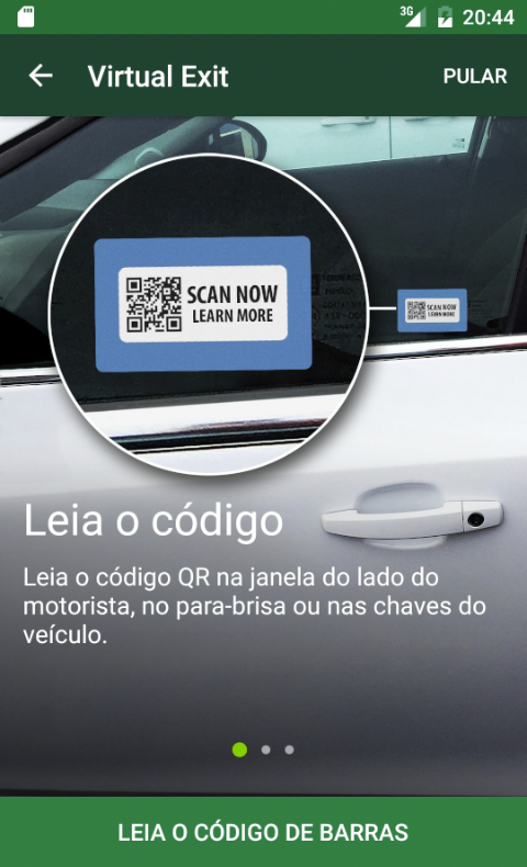 National Car Rental: captura de tela