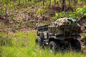Photo: The quad well packed for several days camping A moto-4 bem carregada para acampamento de vários dias
