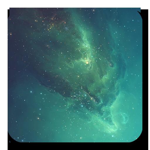 Galaxy Stars Live Wallapaper