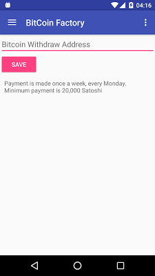 Bitcoin Factory Free Money - screenshot