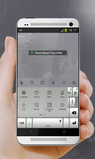 玩個人化App 纯金属 TouchPal免費 APP試玩