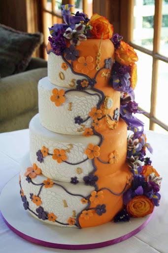 ユニークなケーキのデザイン