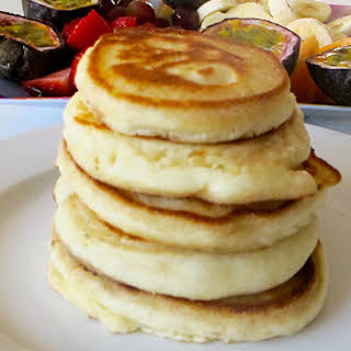 Fluffy Pancakes for Breakfast.