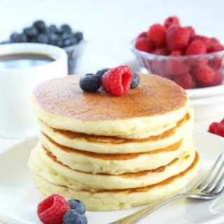 Perfect Gluten Free Buttermilk Pancakes.