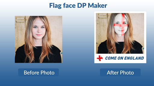 Flag Face App Free: Paint Flag on Face App Report on Mobile Action