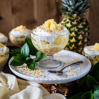 Brazilian Pineapple Dessert