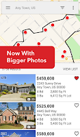 Screenshot of Realtor.com Real Estate, Homes