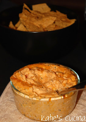 Buffalo Chicken Dip from KatiesCucina.com