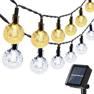 Instalatie solara LED 50 globulete