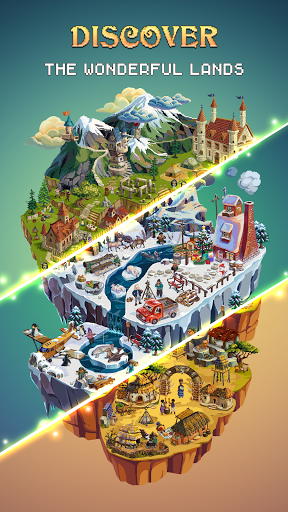 Color Island: Pixel Art apktreat screenshots 1