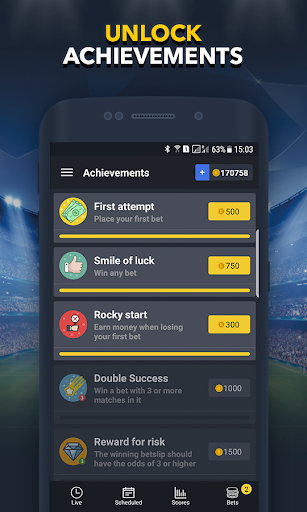 Sports Betting Game - BETUP 1.16 screenshots 6