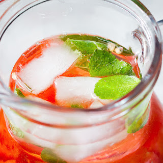 Watermelon White Sangria.