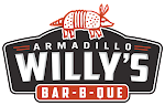 Logo for Armadillo Willy's BBQ - Los Altos