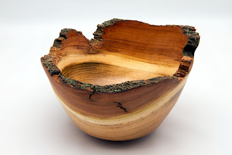 "Photo: Gary Nickerson - Natural-Edge Bowl - 8"" x 5"" - Black Locust  [10.11]"
