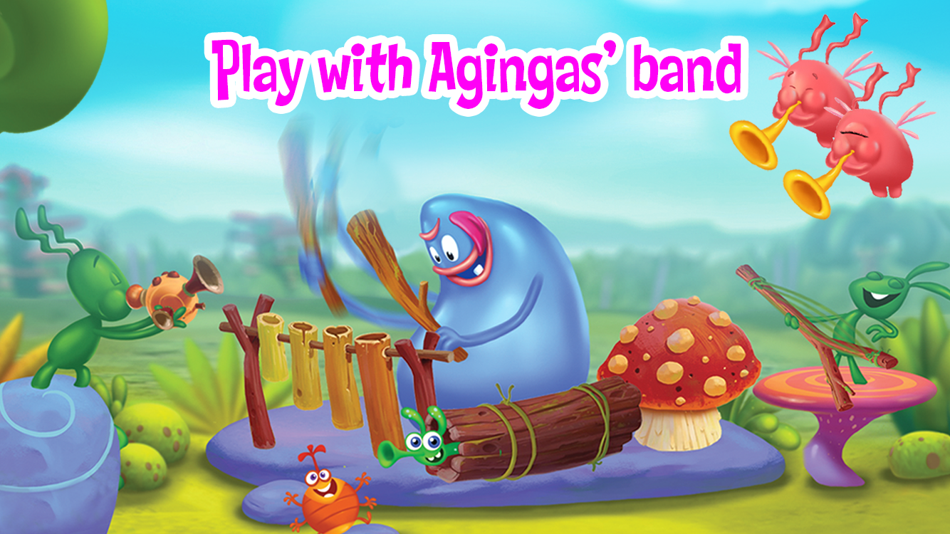 Agi Bagi fun for kids- screenshot