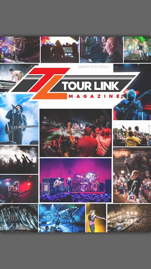 Tour Link Magazine- screenshot