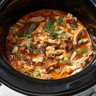 Slow Cooker Chicken Bacon Ragù.
