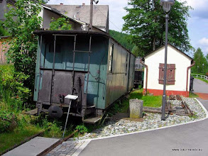 Photo: Rittersgrun. Smalspoor museum