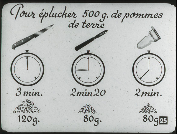 Films fixes et publicités de quartier (educational filmstrips) sur www.filmfix.fr : Simplification des travaux ménagers