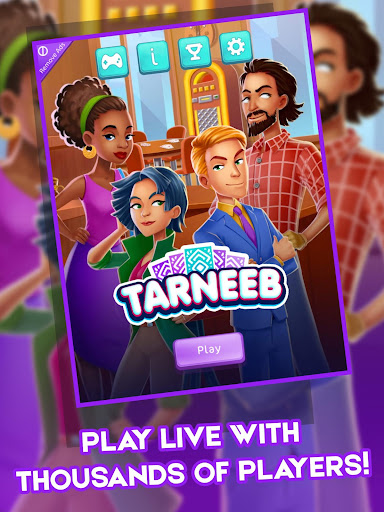 Tarneeb: Popular Offline Free Card Games 4.3.4 screenshots 21