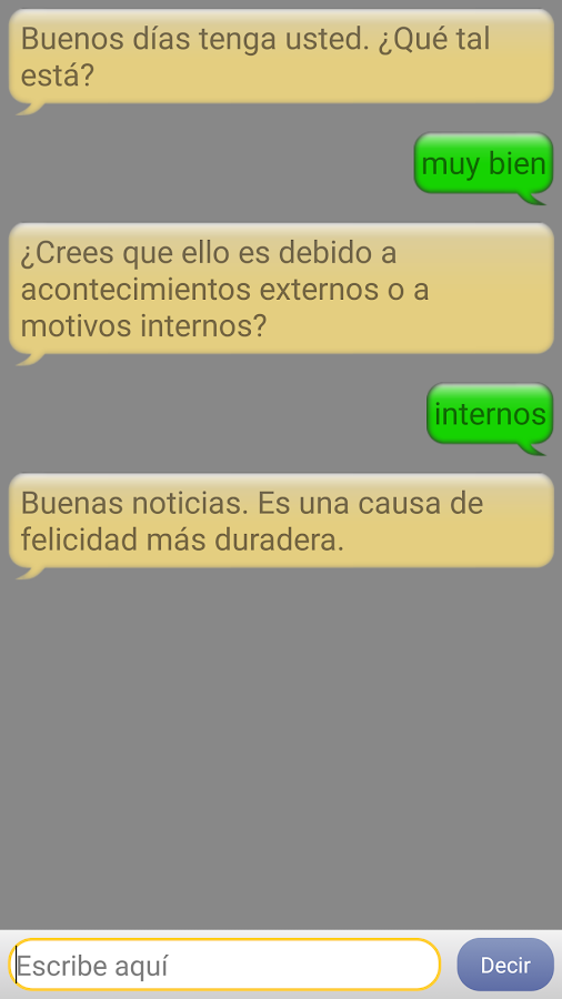 Chat with Cervantes- screenshot