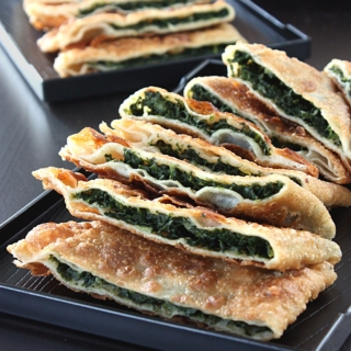 Afghan Spinach Bolani Recipe