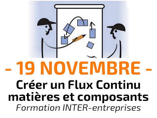 Formation Créer un Flux Continu matières et composants - INTER-entreprises lean