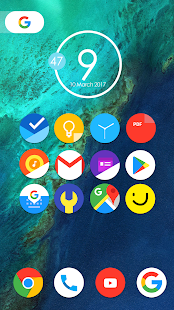 Pixel Nougat - Icon Pack Screenshot