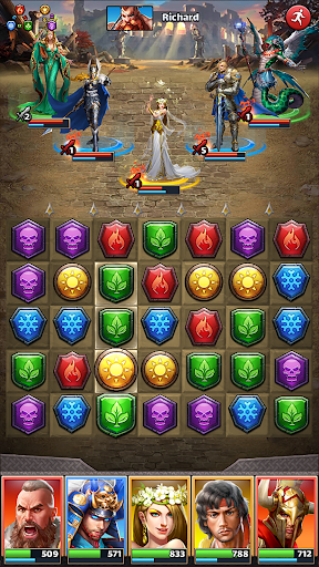 MythWars & Puzzles: RPG Match 3  Wallpaper 16