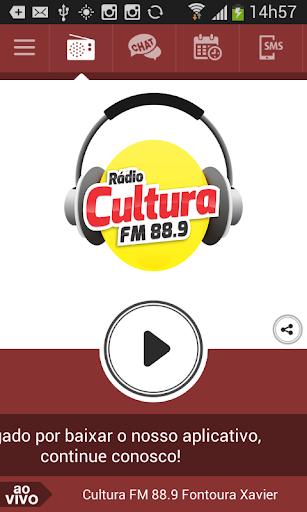 Cultura FM 88.9 FontouraXavier