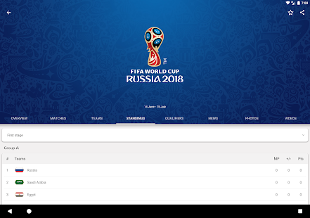 2018 FIFA World Cup Russia™ Official App poster