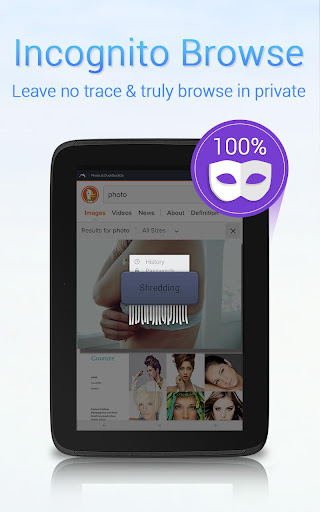 Dolphin Zero Incognito Browser screenshot 10