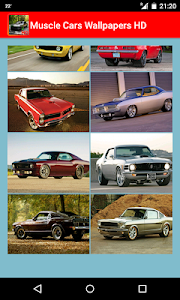 Muscle cars HD Wallpapers screenshot 1
