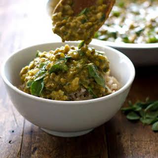 Monggo Beans with Malunggay (or Mung Bean Soup).