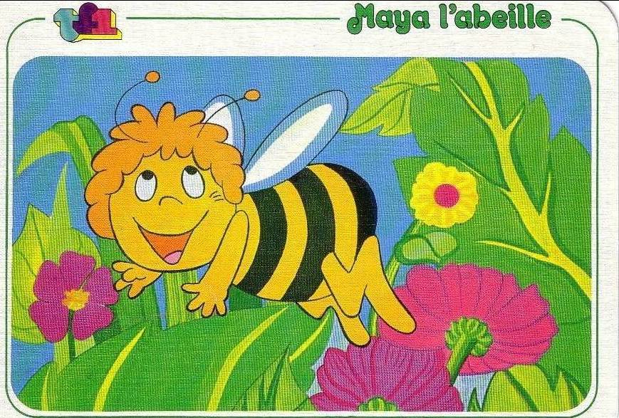 Maya the Bee Vintage Postcards