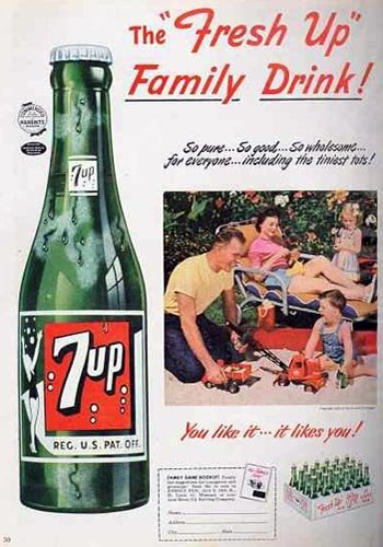 Postcard Friendship Friday #28 - 7 Up!